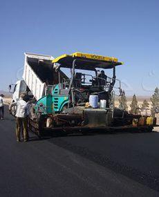 فعالیت های راهسازی شرکت جهاد نصر
