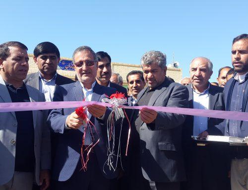 مراسم افتتاحیه آبرسانی به روستاهای قلعه گنج – بهمن 97
