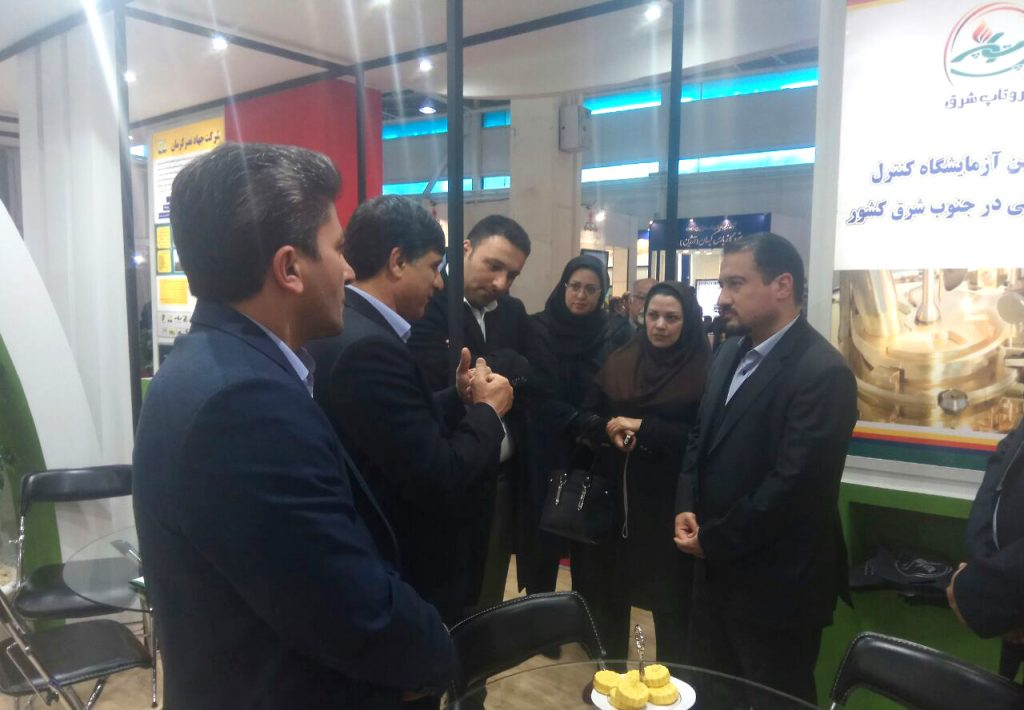 نمایشگاه جایگاه های سوخت شرکت جهاد نصر کرمان و شرکت پهنه آسمان تابان