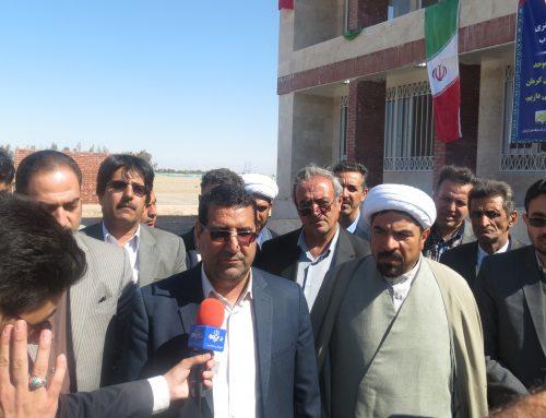 مراسم افتتاحیه ساختمان دادگستری رودبار جنوب – بهمن 97