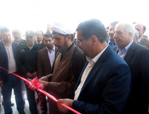 مراسم افتتاحیه ساختمان دادگستری قلعه گنج – بهمن 97