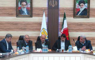 بازدید جاب آقای شمایلی و جناب آقای گلی از شرکت جهاد نصر کرمان