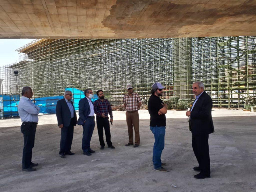 بازدید مدیر عامل جهاد نصر از پل همدانی