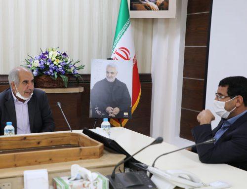 دیدار مدیر عامل و اعضای هیات مدیره هلدینگ جهاد نصر کرمان  با رئیس کل دادگستری استان کرمان به مناسبت هفته قوه قضائیه