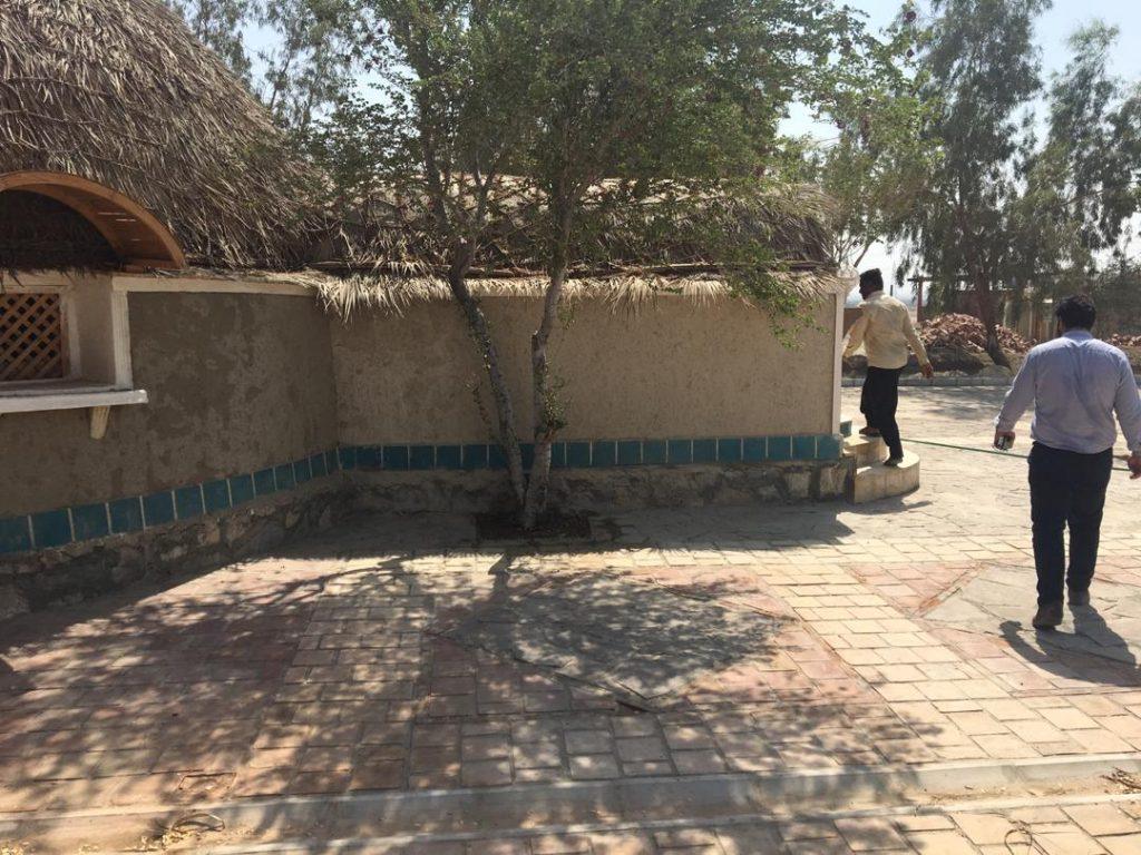 هتل کپری جهاد نصر کرمان پهنه آسمان تاان