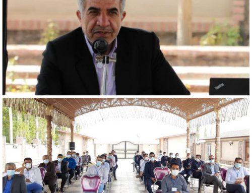 جلسه هماهنگی و هم اندیشی مدیران و مسئولین Hse شرکت های گروه با حضور مدیر عامل هلدینگ جهاد نصر کرمان