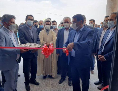 آیین افتتاحیه ساختمان جدید دادسرای عمومی و انقلاب شهرستان بافت