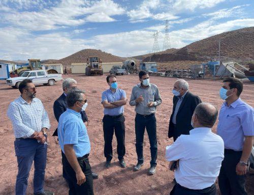 بازدید مدیر عامل گروه جهاد نصر کرمان از پروژه زیرسازی راه آهن سیرجان – بردسیر
