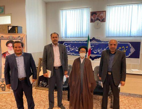 دیدار مدیر عامل گروه جهاد نصر کرمان با امام جمعه سیرجان